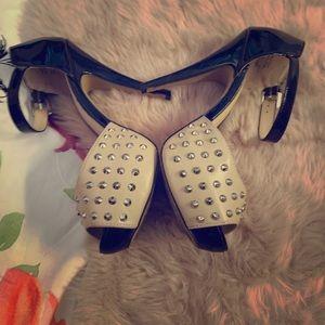Aldo studded heels
